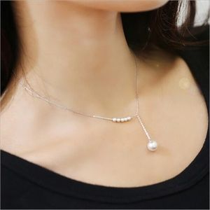 Jewelry - Dainty Simple Pearl Necklace